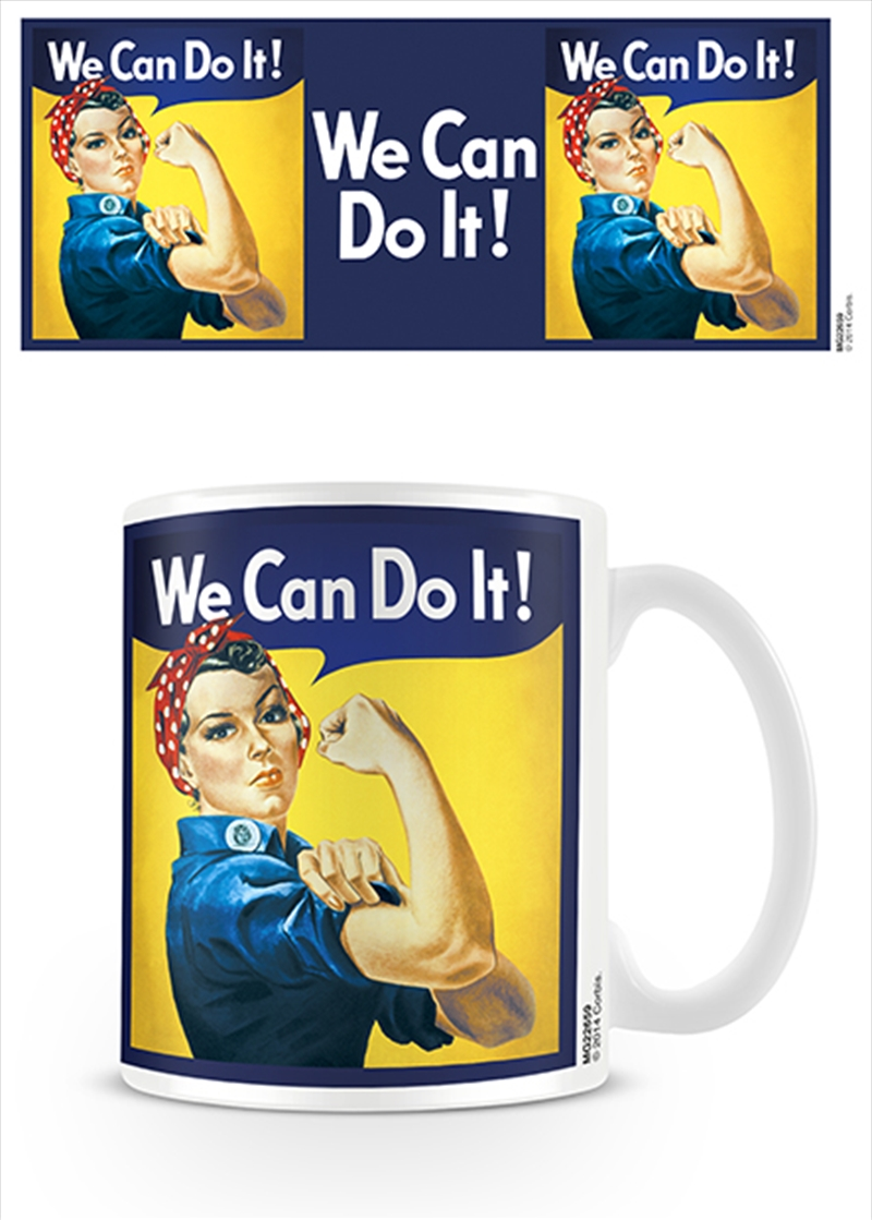 Rosie The Riveter - We Can Do It | Merchandise