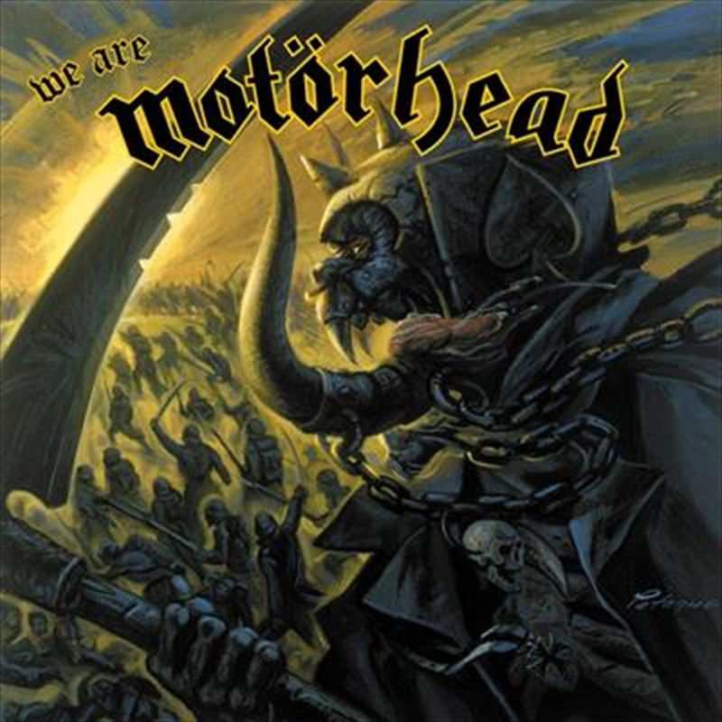 We Are Motorhead   Vinyl