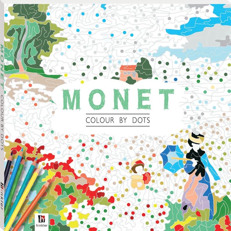 Colour By Dots: Monet | Paperback Book