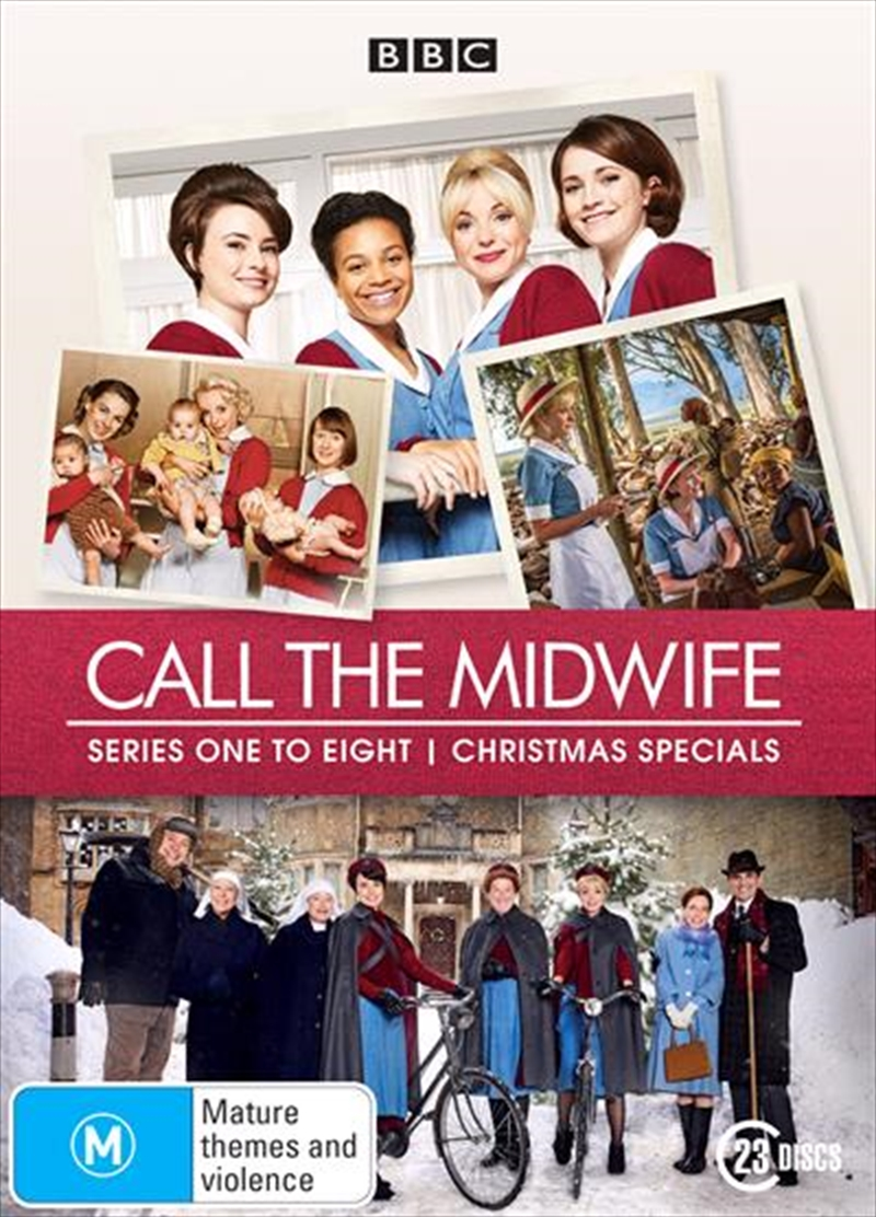 Call The Midwife - Series 1-8 - Limited Edition | DVD