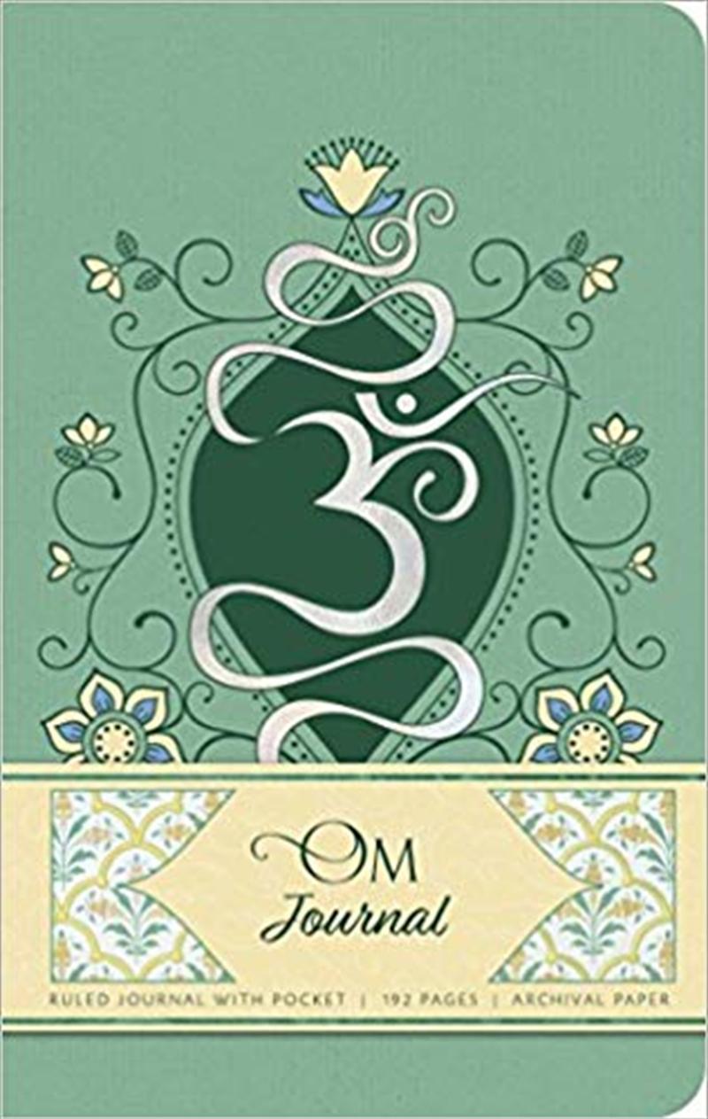 Om Hardcover Ruled Journal | Merchandise