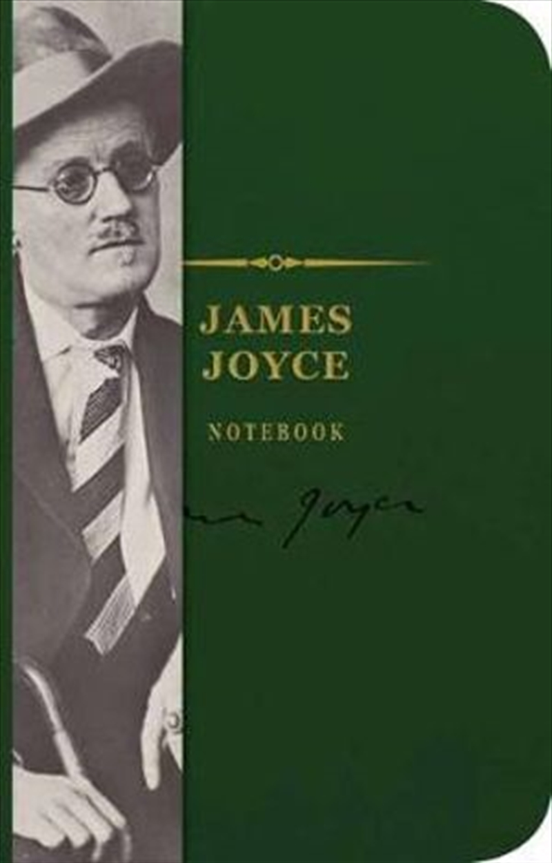 James Joyce Signature Notebook - The Signature Notebook Series | Merchandise