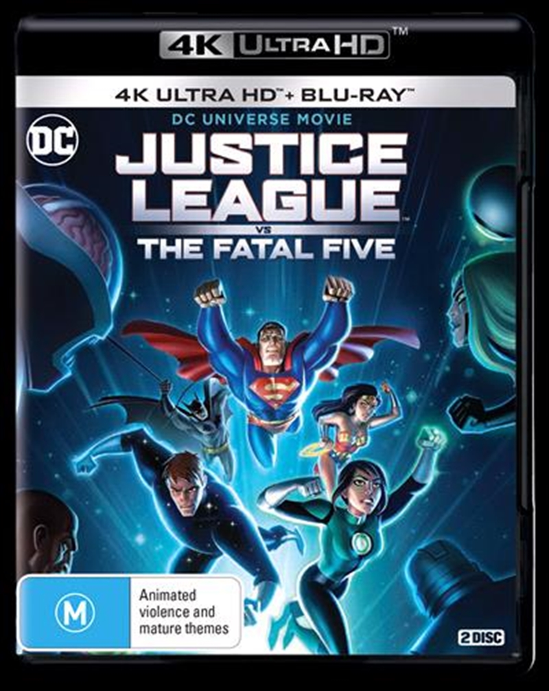 Buy Justice League Vs Fatal Five on 4K UHD | Sanity Online