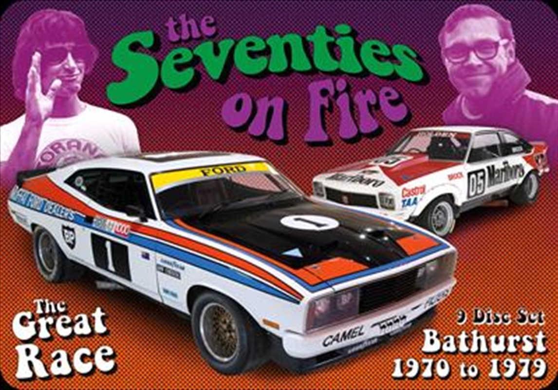 Seventies On Fire - Bathurst 1970-1979 | Collector's Tin Box, The | DVD