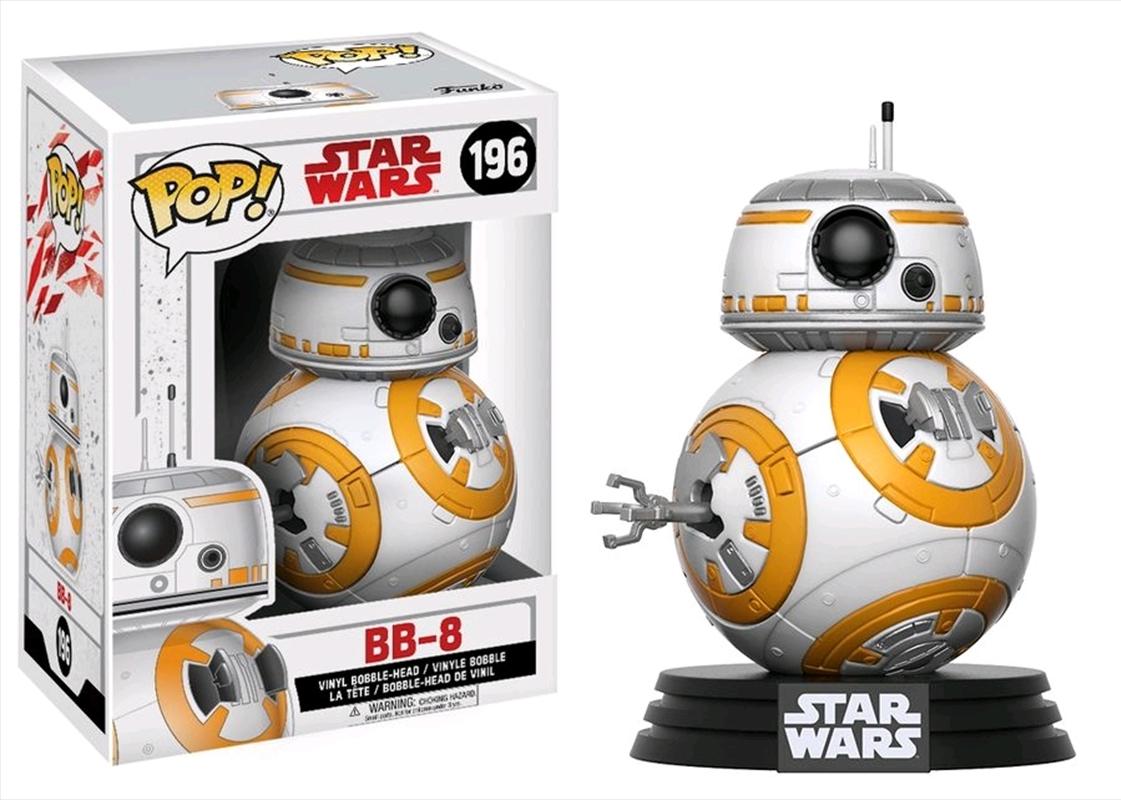 Star Wars - BB-8 Episode VIII The Last Jedi Pop! Vinyl   Pop Vinyl