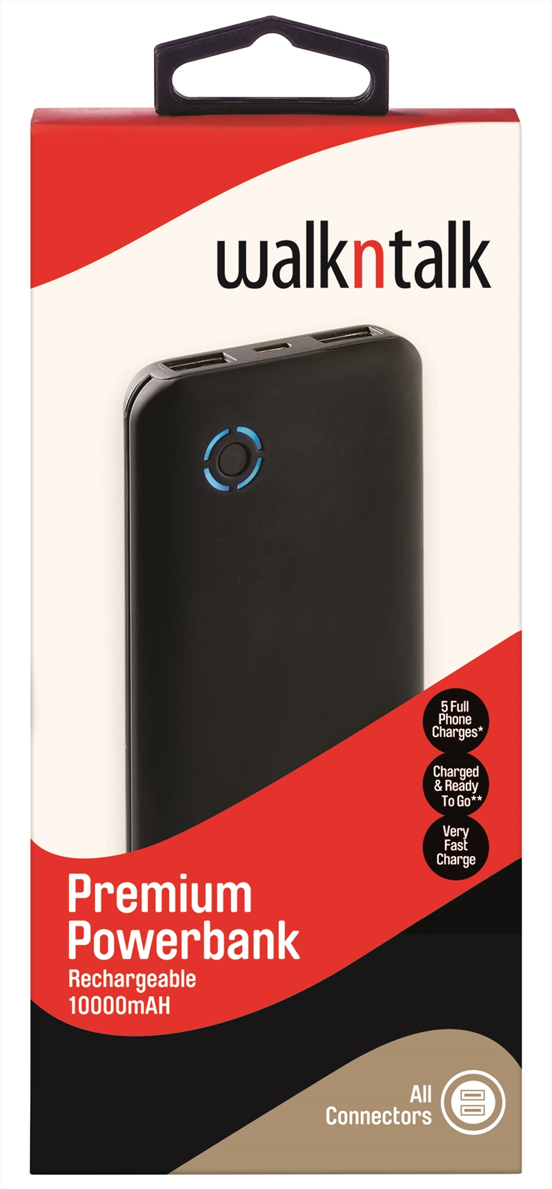 Walkntalk - 10000mAH Premium Powerbank | Accessories