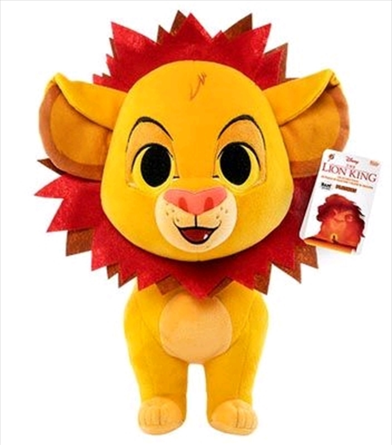 """Lion King - Simba with Flower Crown US Exclusive 12"""" Plush [RS] 