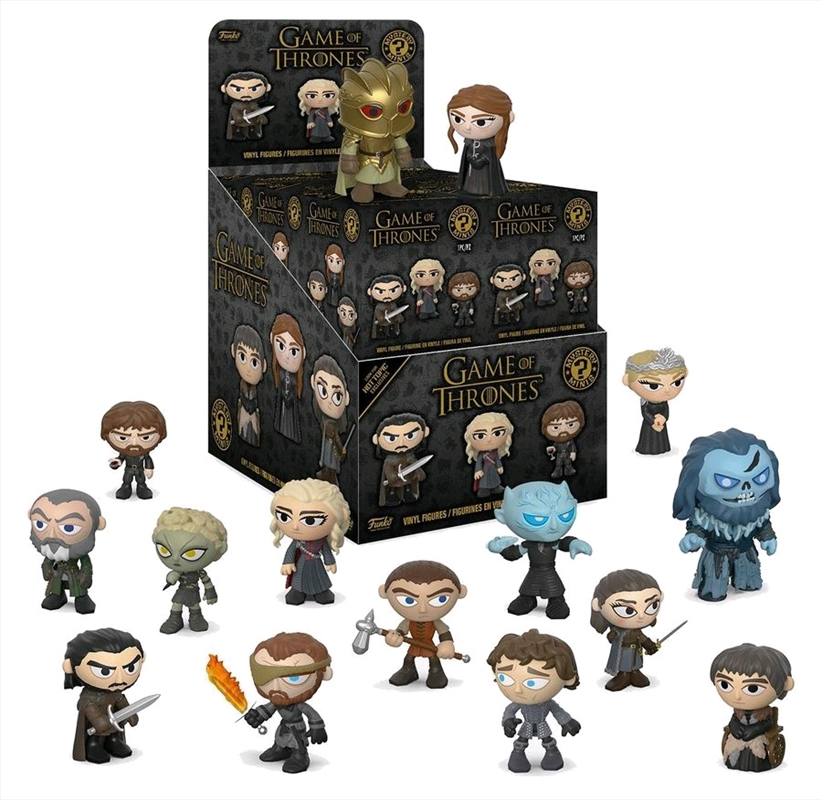 Game of Thrones - Season 8 US Exclusive Mystery Minis Blind Box [RS] | Merchandise