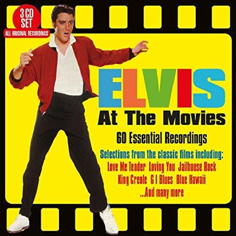 Elvis At The Movies - 60 Essential Recordings | CD