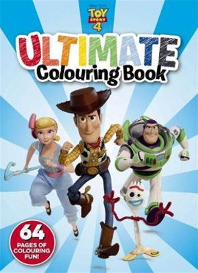 Toy Story 4 : Ultimate Colouring | Paperback Book