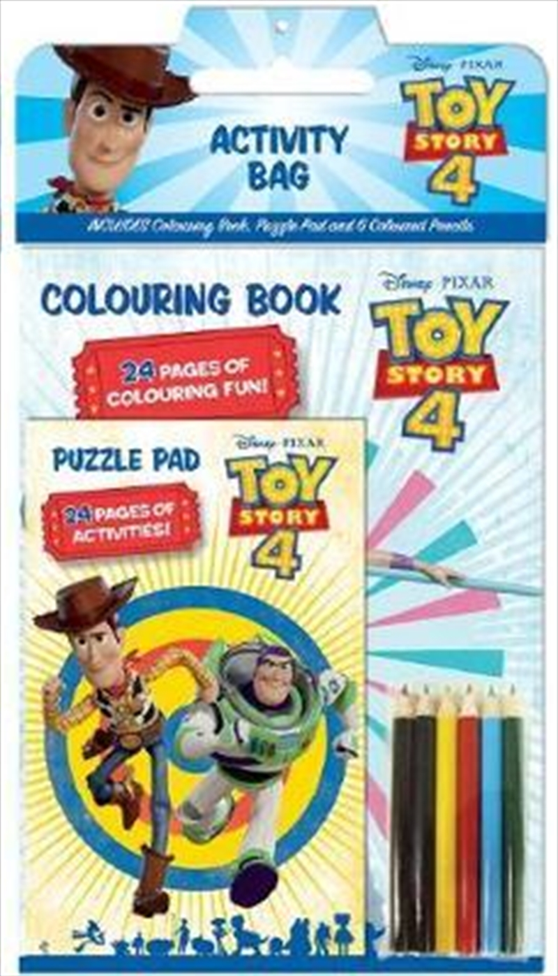 Toy Story 4 Activity Bag   Paperback Book