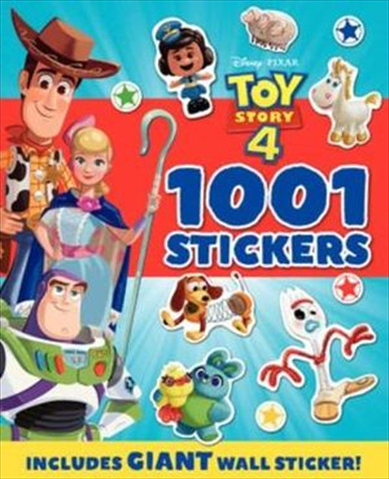 Toy Story 4 - 1001 Stickers Book | Paperback Book