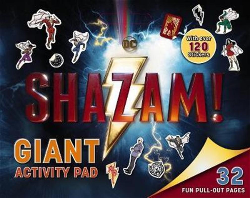 Shazam: Giant Activity Pad | Paperback Book