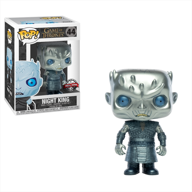 Game of Thrones - Night King Metallic US Exclusive Pop! Vinyl [RS] | Pop Vinyl