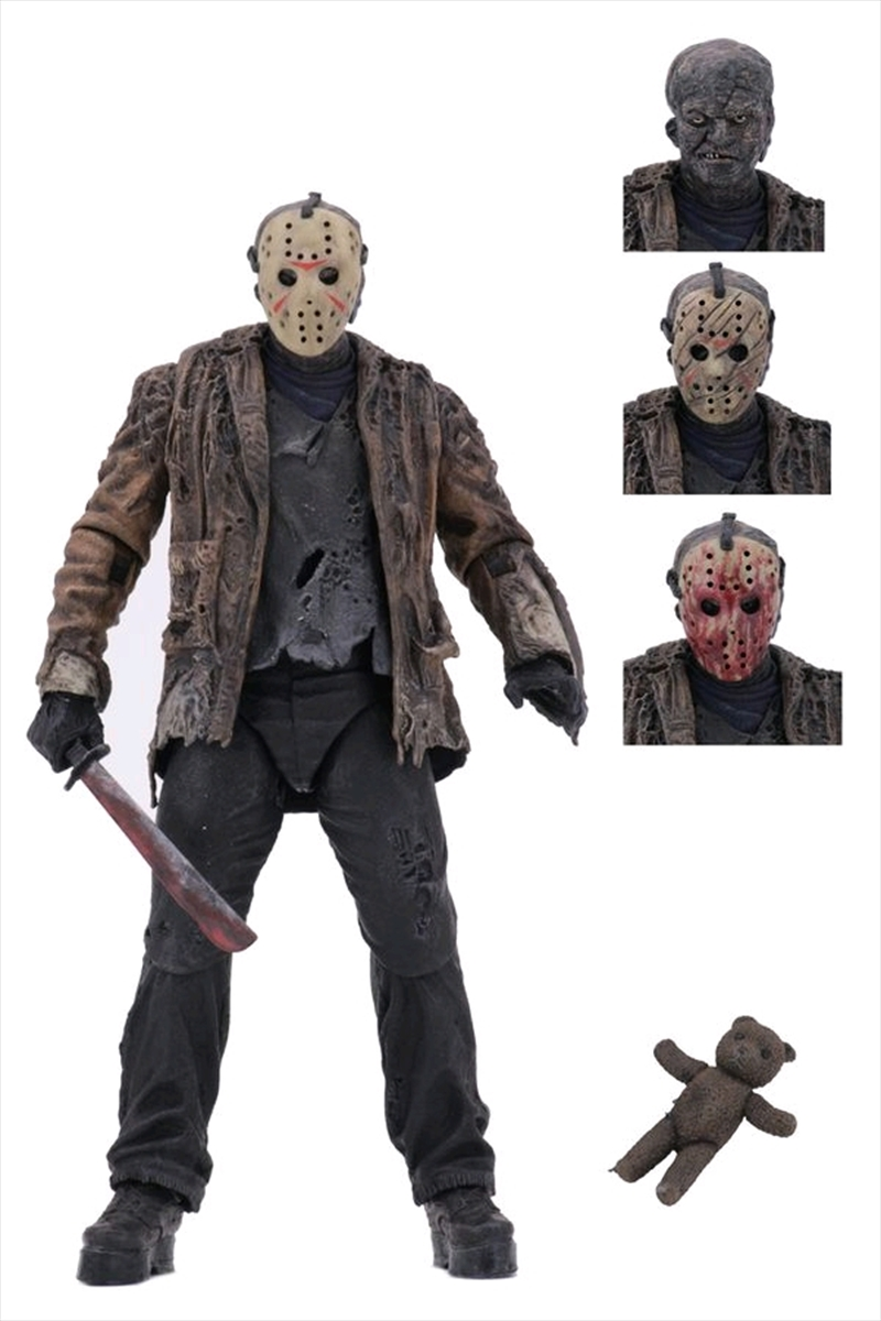 "Freddy vs Jason - 7"" Ultimate Jason Voorhees Action Figure | Merchandise"