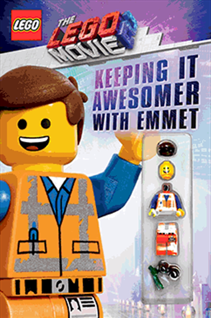 LEGO Movie 2: Keeping it Awesomer with Emmet | Paperback Book