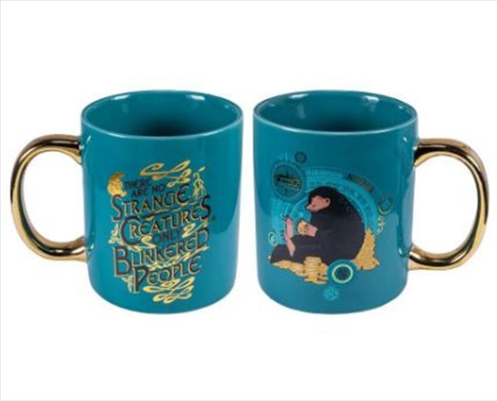 Fantastic Beasts - Niffler Gold Electroplated Mug   Merchandise