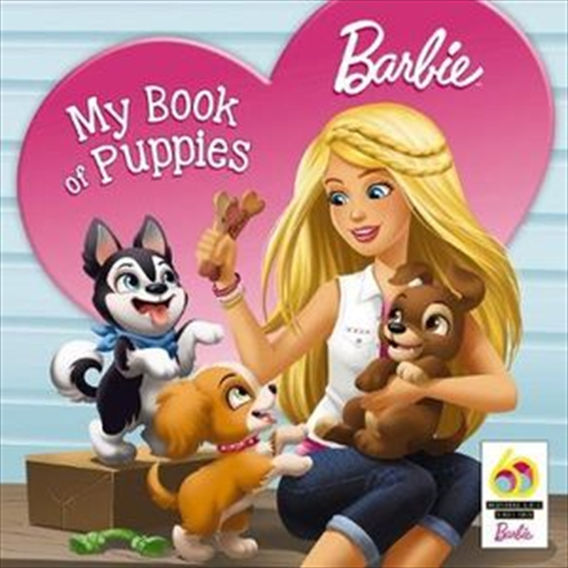 Barbie: My Book of Puppies | Paperback Book