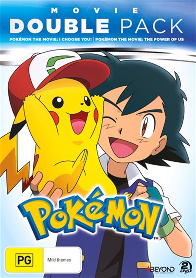 Pokemon - I Choose You / The Power Of Us | DVD