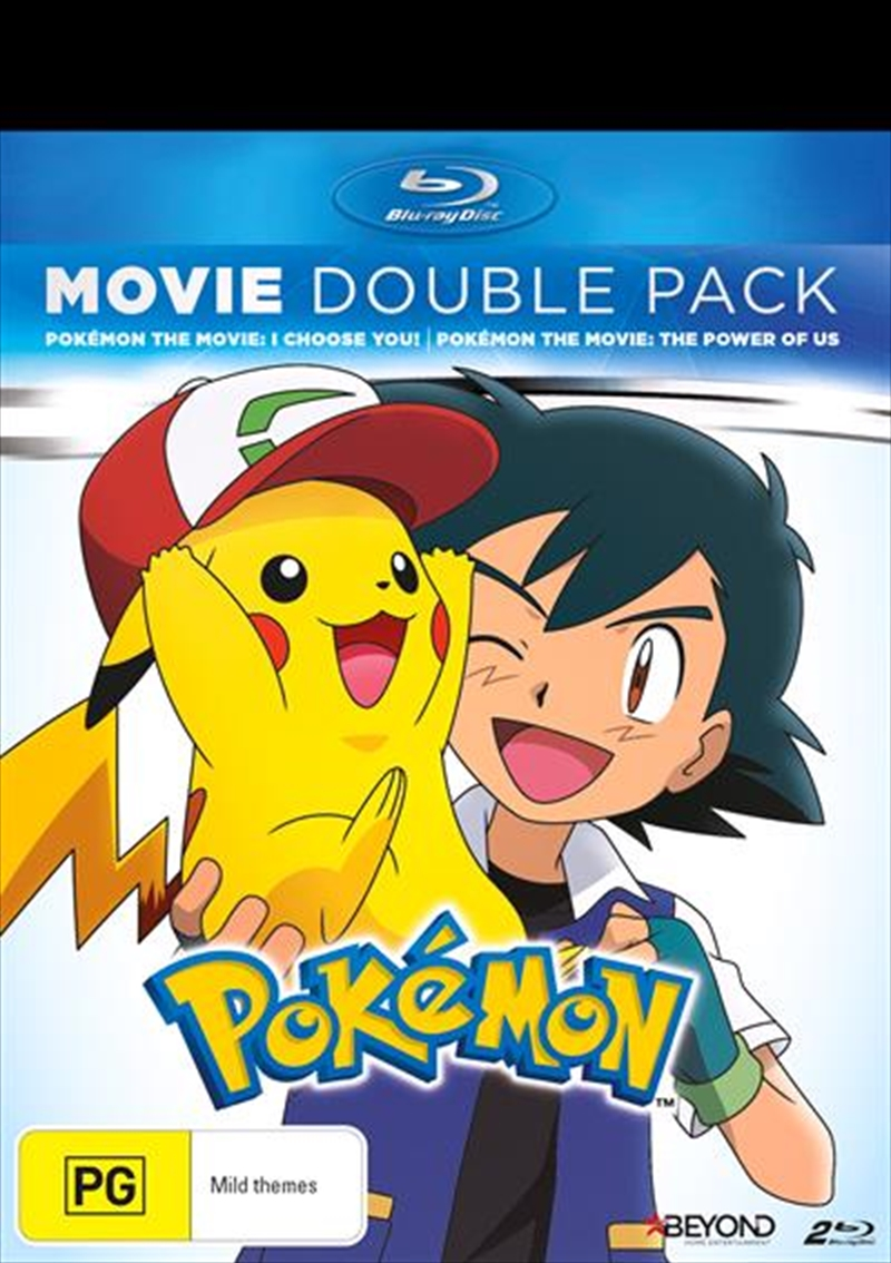 Pokemon - I Choose You / The Power Of Us | Double Pack | Blu-ray