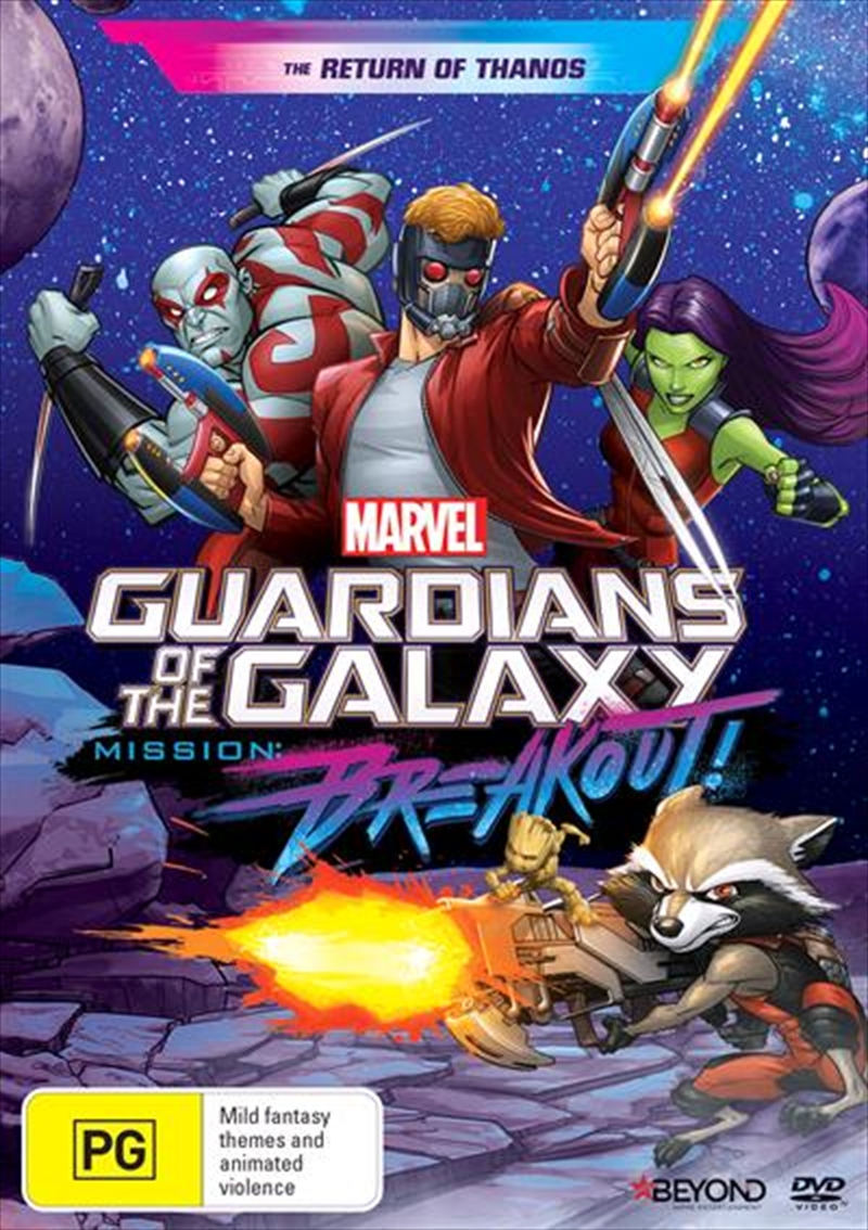 Guardians Of The Galaxy - Mission Breakout - The Return Of Thanos | DVD