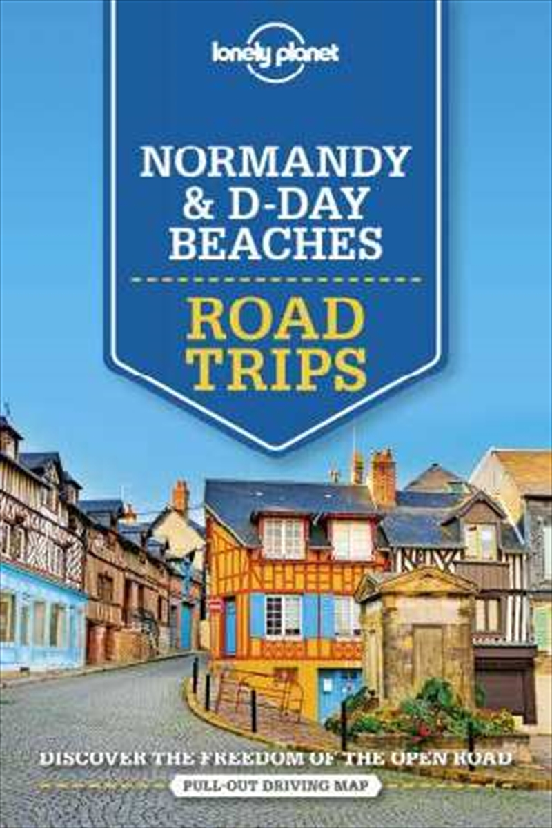 Normandy D-Day Beaches Road | Paperback Book