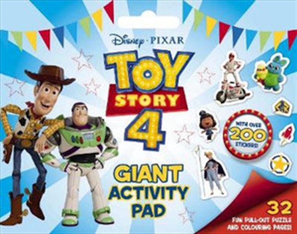 Toy Story 4 Giant Activity Pad | Paperback Book