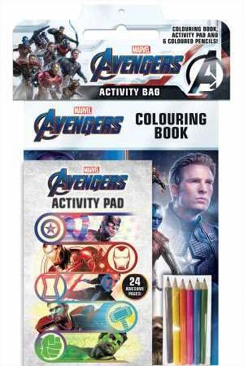 Avengers 4: Activity Bag | Paperback Book