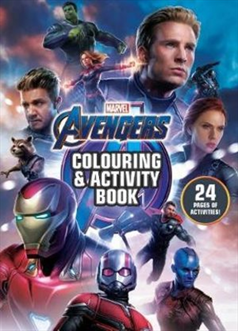 Avengers 4: Colouring & Activity Book | Paperback Book