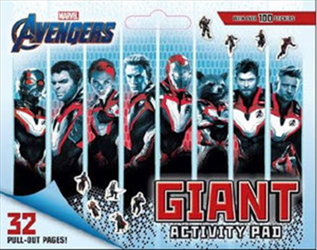 Avengers 4: Giant Activity Pad | Paperback Book