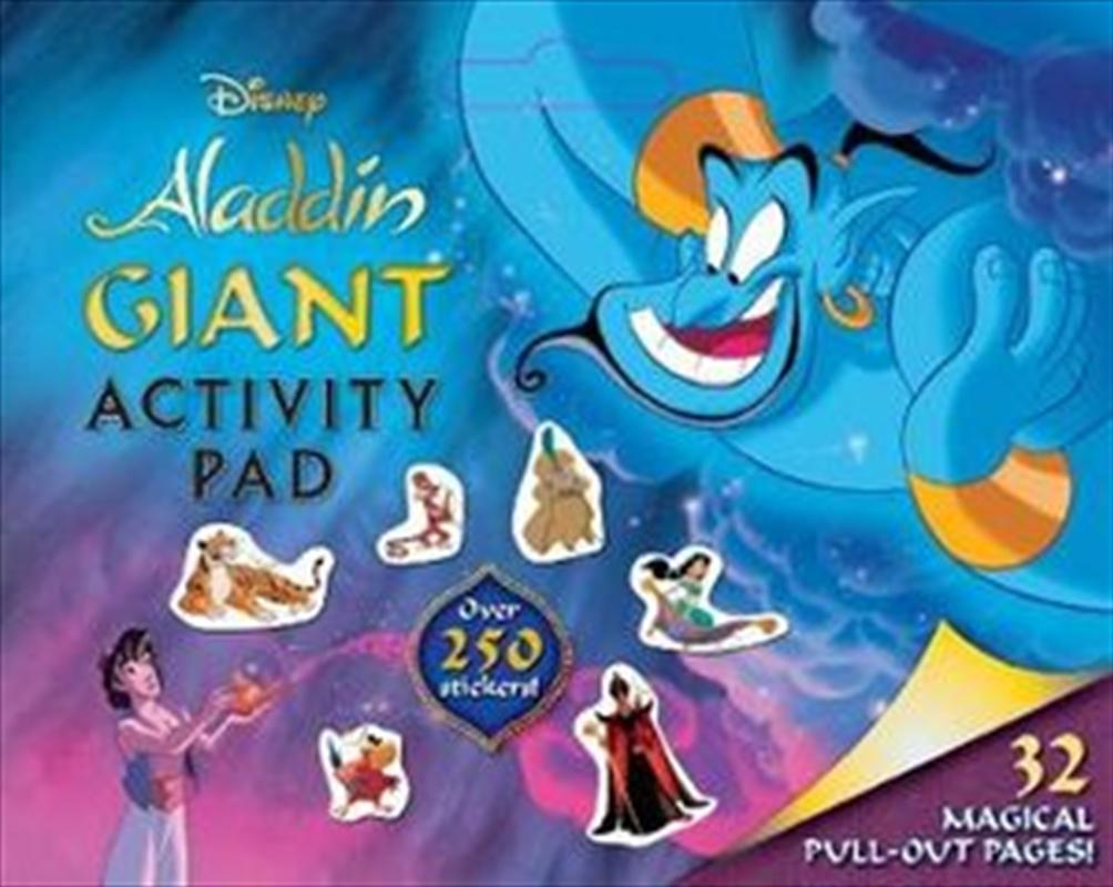 Disney Aladdin: Giant Activity Pad   Paperback Book
