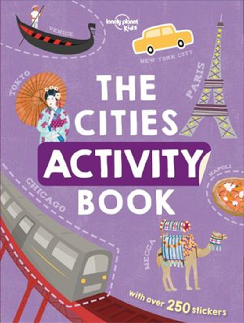 Cities Activity Book | Paperback Book