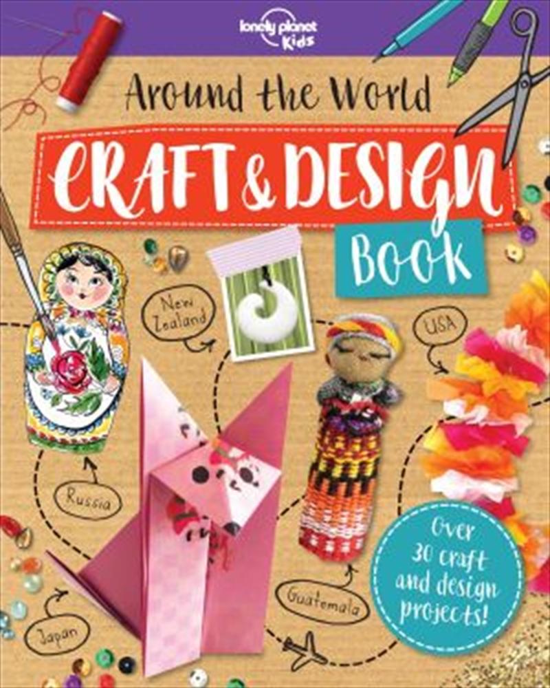 Around the World Craft and Design Book | Paperback Book
