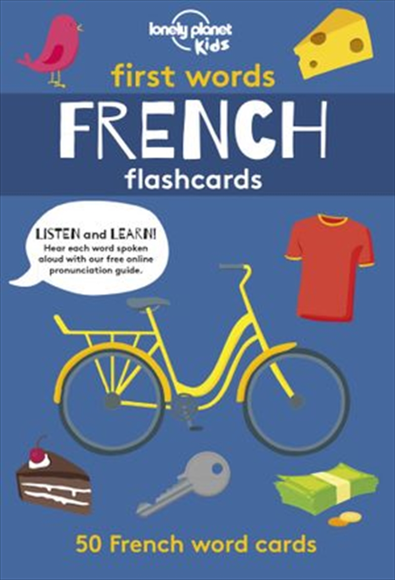 First Words - French | Hardback Book