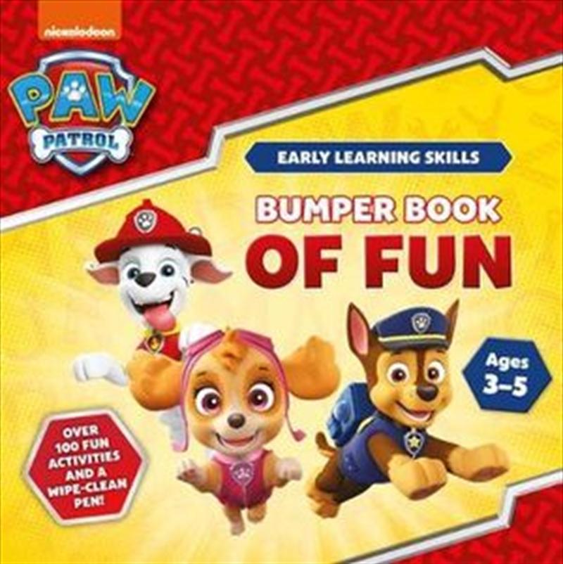 Paw Patrol: Bumper Book of Fun | Paperback Book