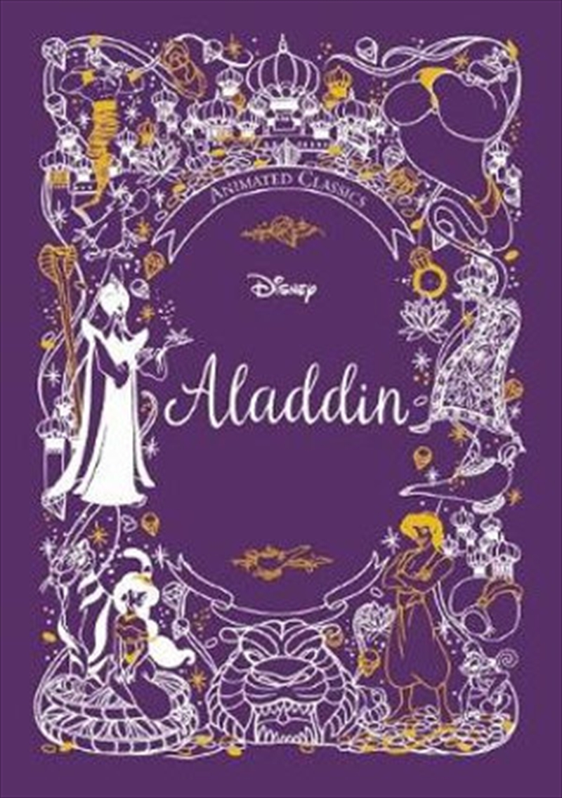 Aladdin: Animated Classic | Hardback Book