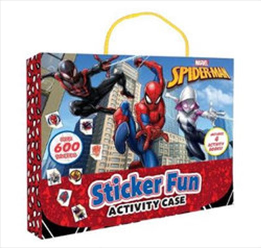 Spider-Man: Sticker Activity Case | Paperback Book