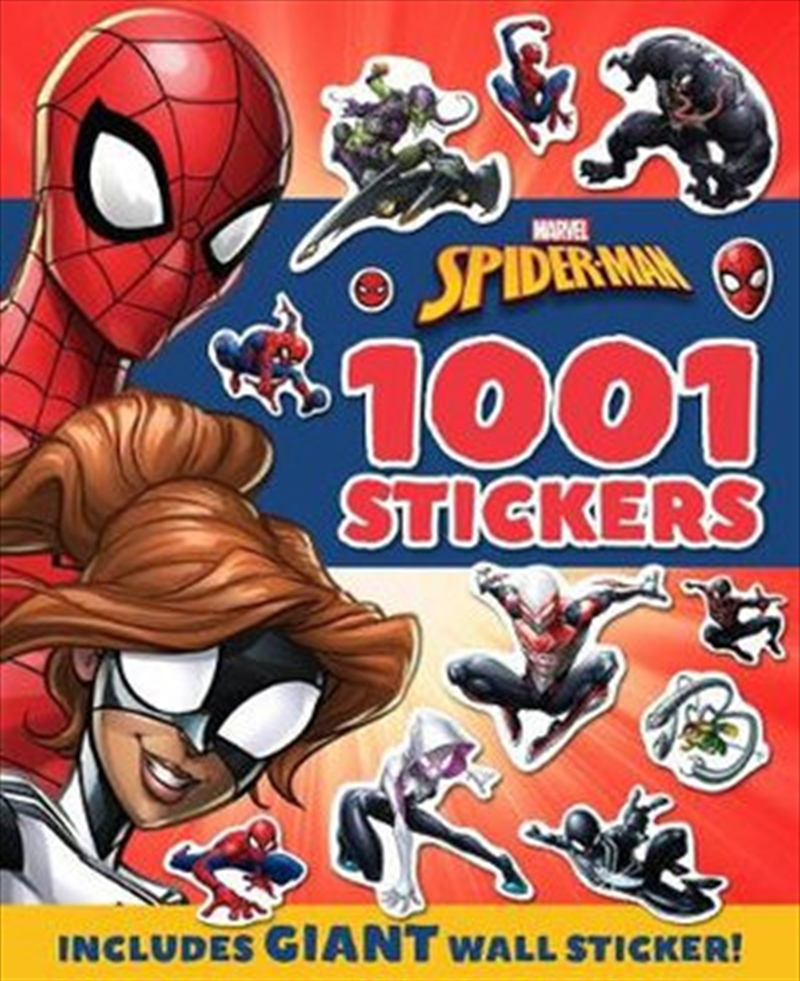 Spider-Man: 1001 Stickers | Paperback Book