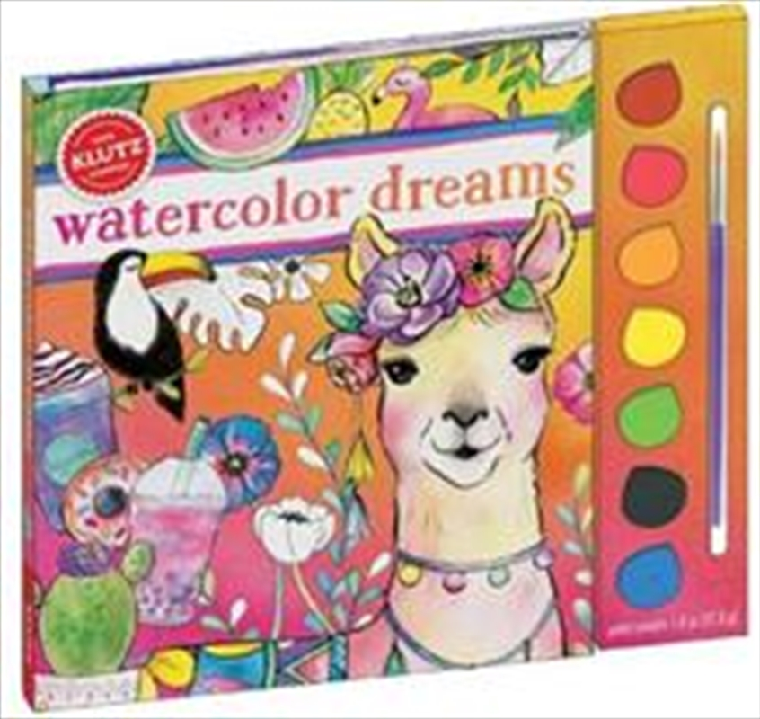 Klutz: Watercolor Dreams | Paperback Book