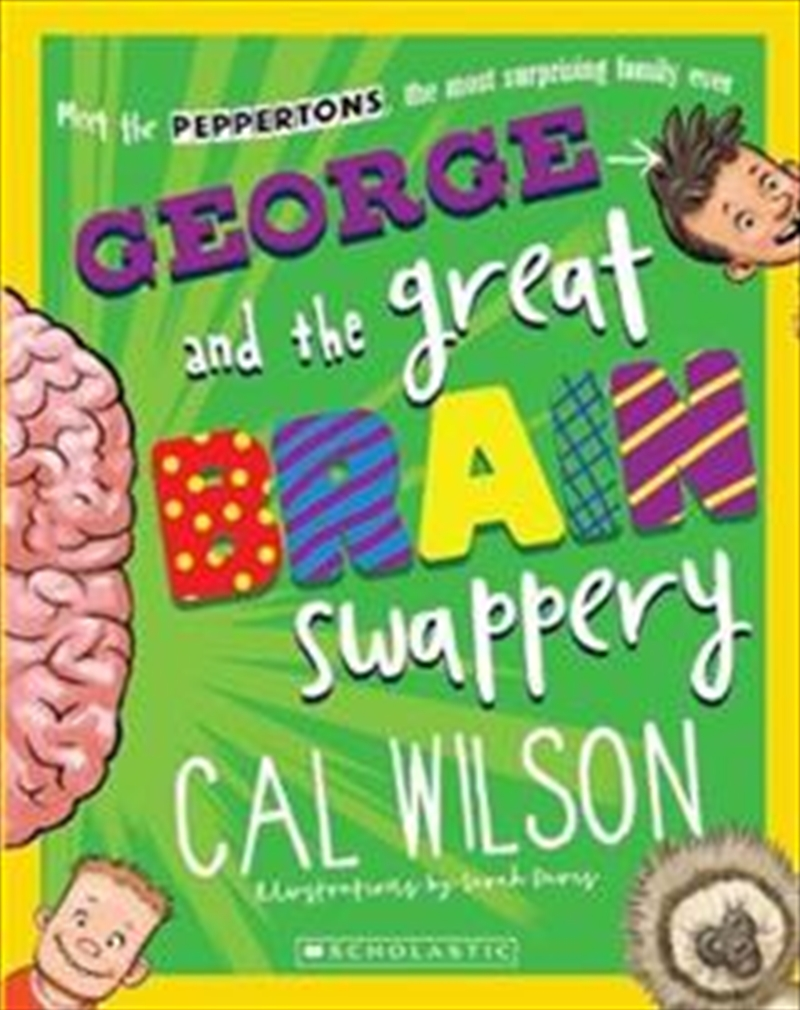 George and the Great Brain Swappery | Paperback Book