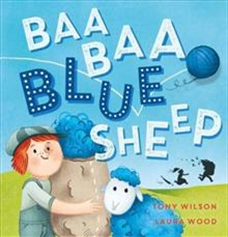 Baa Baa Blue Sheep | Hardback Book