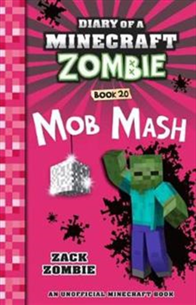 Diary of a Minecraft Zombie #20: Mob Mash | Paperback Book
