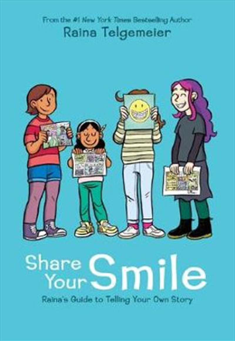 Share Your Smile | Hardback Book