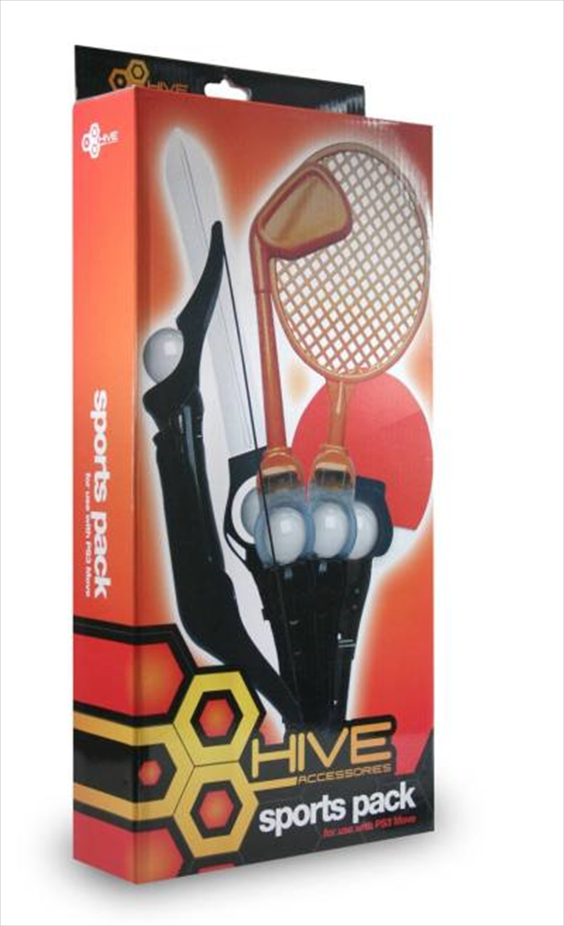 Hive Move Sports Pack | PlayStation 3