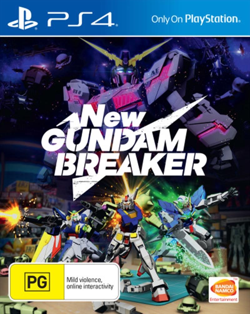 New Gundam Breaker   PlayStation 4