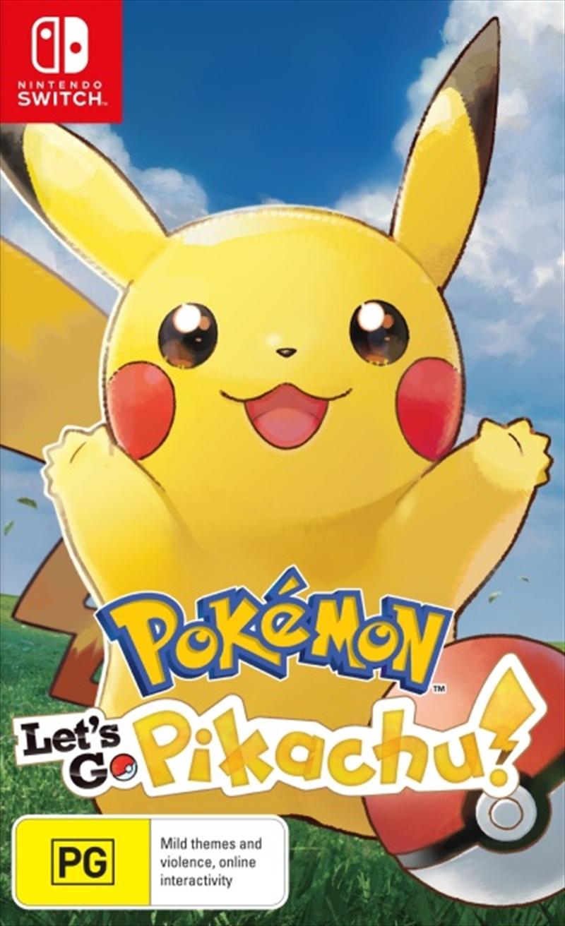 Pokemon Lets Go Pikachu | Nintendo Switch