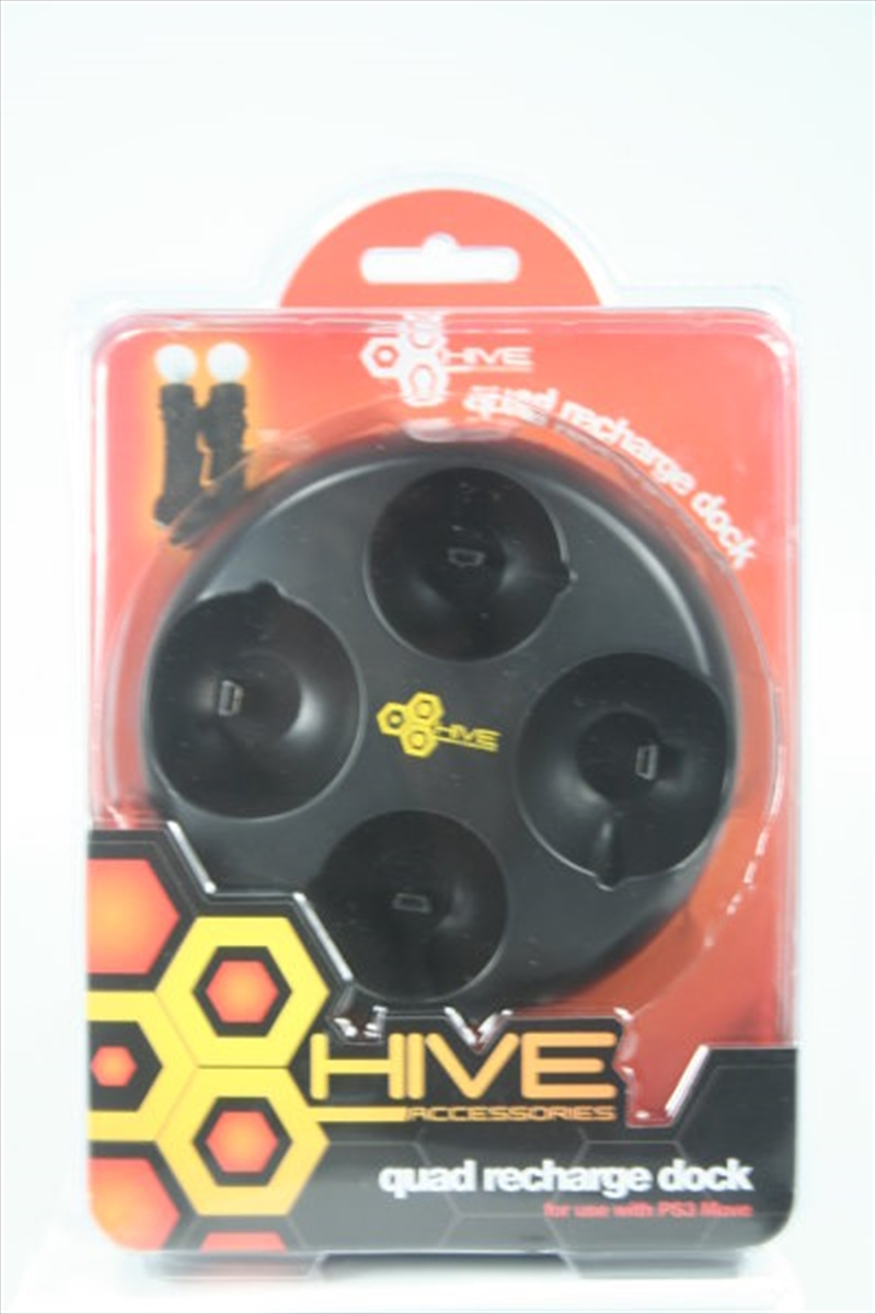Hive Move Quad Recharge Dock | PlayStation 3