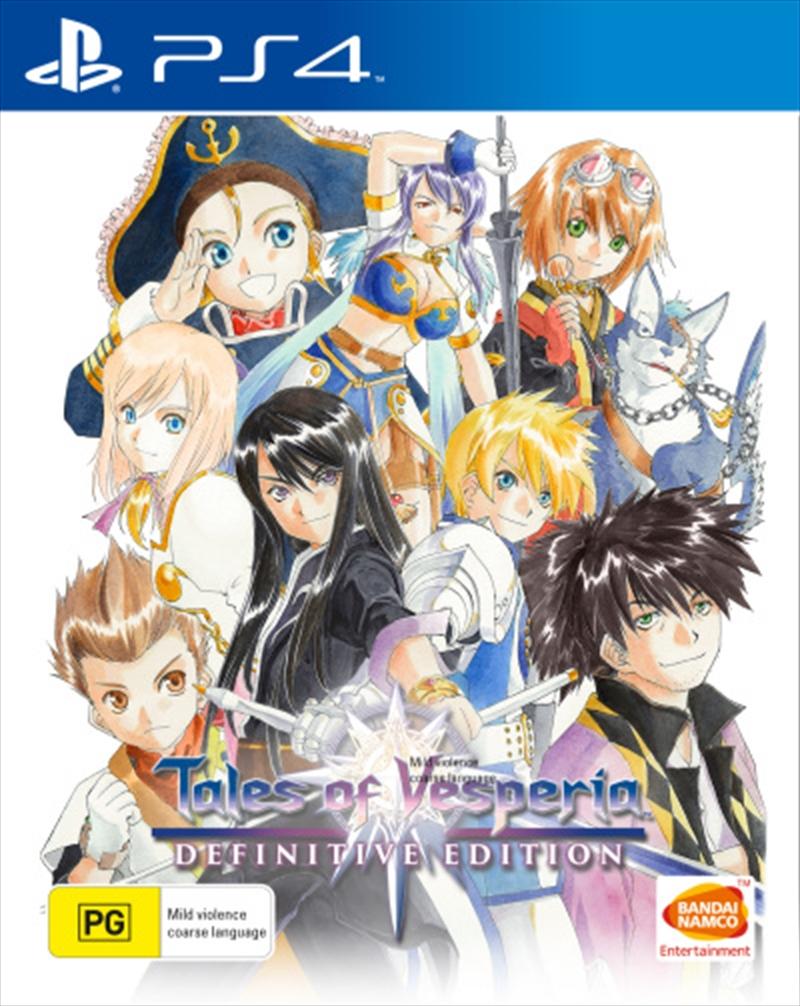 Tales Of Vesperia: Def Edn | PlayStation 4