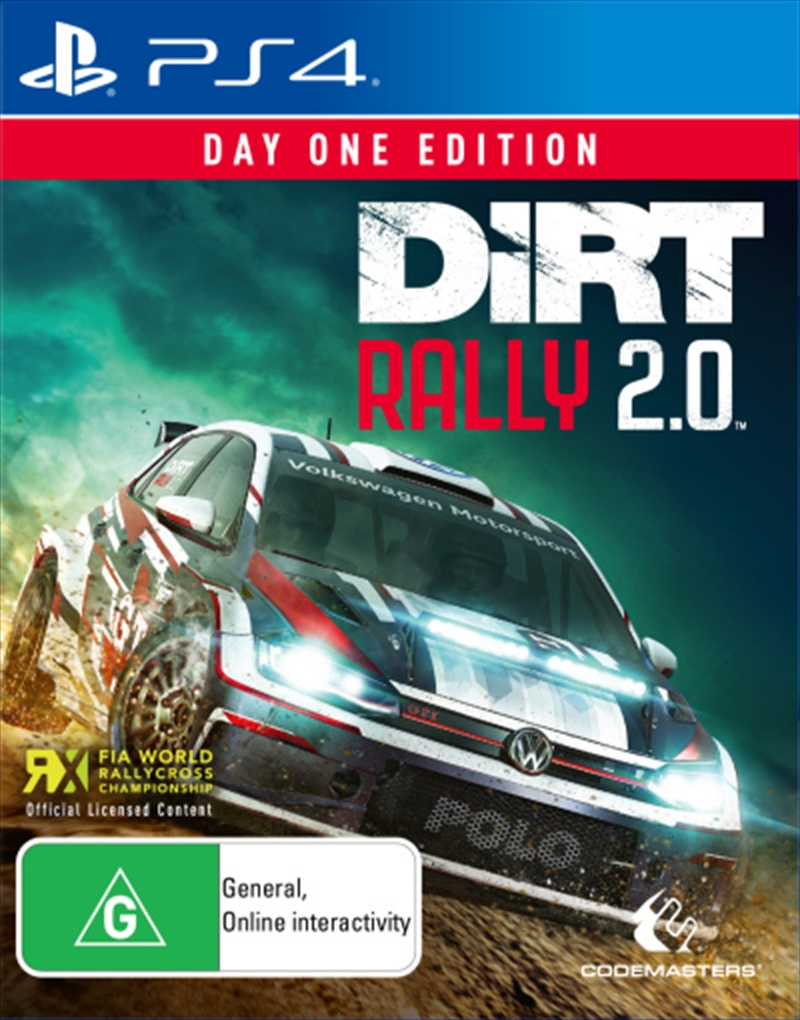 Dirt Rally 2.0 | PlayStation 4