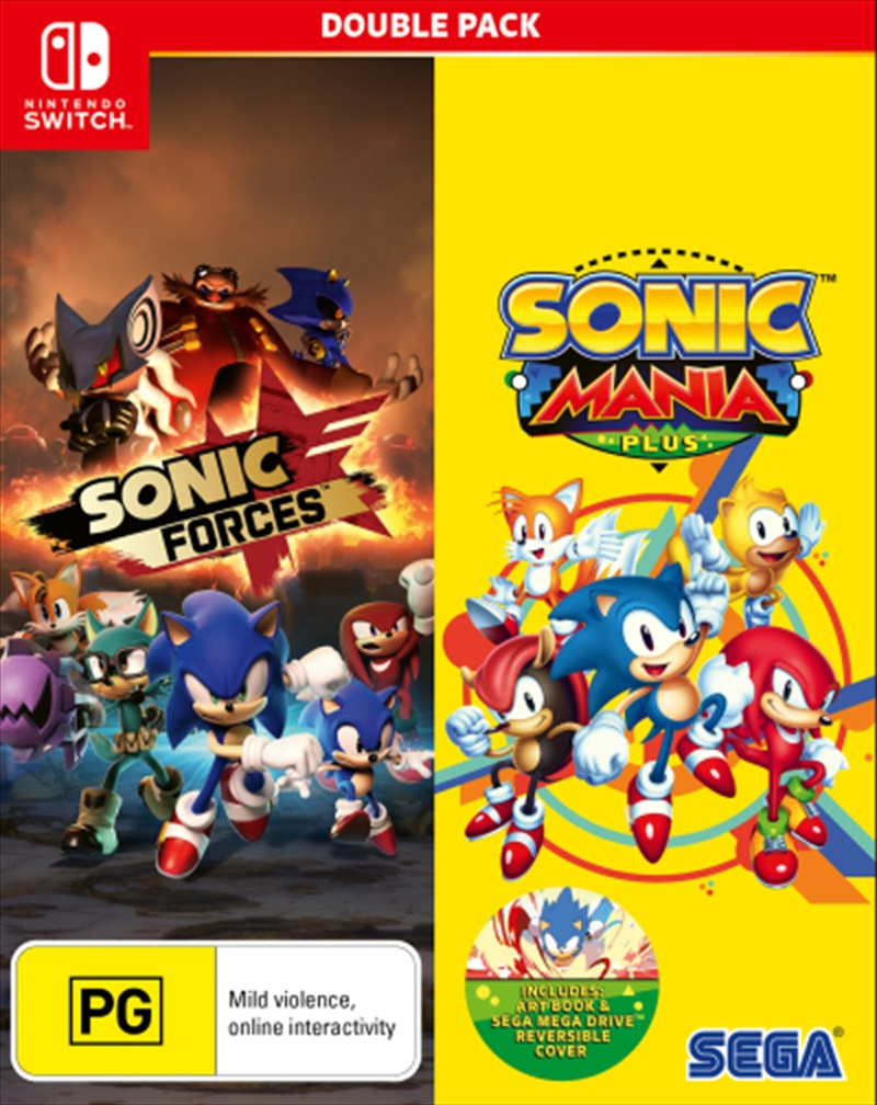 Sonic Forces And Sonic Mania | Nintendo Switch
